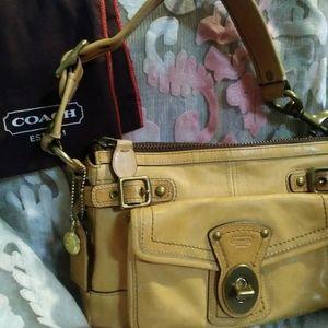Coach 65th Anniversary Legacy Turlock bag#11127EUC